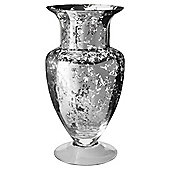 Tesco Optic Stem Vase, Mercury