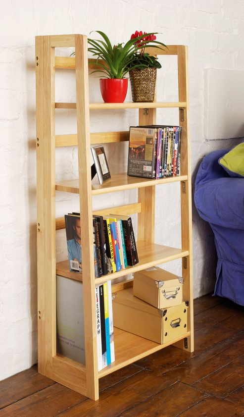 Premier Housewares Four Tier Folding Book Shelves