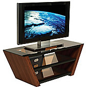 Peerless Walnut TV Stand for up to 55 inch