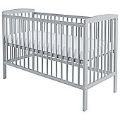Kinder Valley Sydney Cot, Dove Grey
