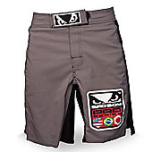 Bad Boy World Class Pro Shorts Black/Silver - X Large
