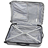 IT 4 Wheeled Hard Shell Silver Small Suitcase