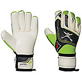 Precision Football Soccer Schmeichology 5 Fusion Pro Goalkeeper Gloves - White