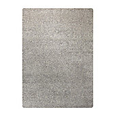 Esprit Spacedyed Grey Tufted Rug - 140 cm x 200 cm (4 ft 7 in x 6 ft 7 in)