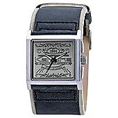 Kahuna Gents Black Strap Watch KUC-0017G