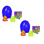 The Trash Pack Series 6 Rotten Egg 2 Eggs Included 4 Trashies - 2 Item Bundle
