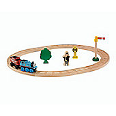 Fisher Price - Thomas & Friends - Wooden Railway Starter Set - Mattel