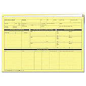 Sigma Personnel Forms Personnel Wallets 235x330mm Yellow Ref G352R [Pack 50]