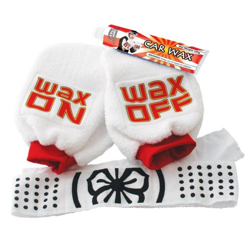 Wax On Wax Off Karate Car Kit