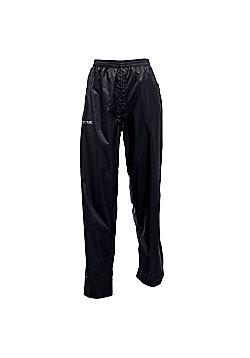 Regatta Ladies Pack It Waterproof Overtrousers - Black