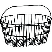 Rixen & Kaul Black Wire Front Basket. Without KF850 Adapter
