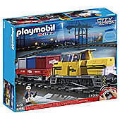 Playmobil City Action RC Freight Train 5258