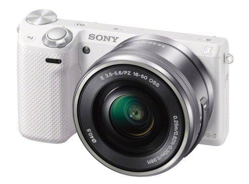 Sony NEX-5RL CSC Camera White 16.1MP 16-50mm Lens 3.0 TouchLCD FHD WiFi