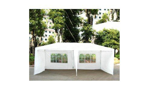 6x3m White Garden Party Tent Marquee Gazebo