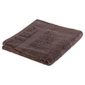 Tesco Hygro cotton Bath Towel chocolate