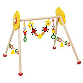 Heimess 763334 Wooden Baby Gym (Ladybird and Flower)