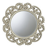 Gallery Chartwell Mirror - Fawn Grey