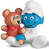 Schleich Smurf Favourites Babysmurf with Bear