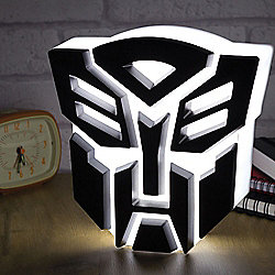 Autobot Transformers Lamp