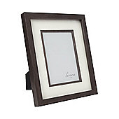 Linea Wood Photo Frame 5X7 In Brown