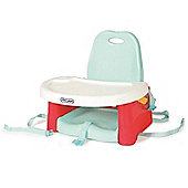 The First Years Swing Tray Booster Seat Aqua/Red