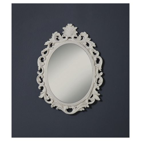 Napoli Baroque Mirror White