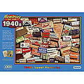 1940's Sweet Memories - 1000 Piece Jigsaw