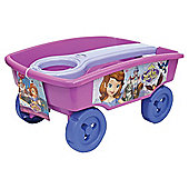 Disney Sofia The First Becoming A Princess Pull Along Wagon