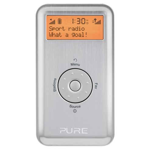 Pure Move 2500 Rechargeable Portable DAB/FM Radio