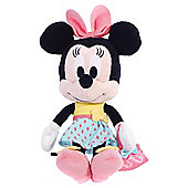 "Disney I Love Minnie Mouse Manhattan Style 10"" Soft Toy"