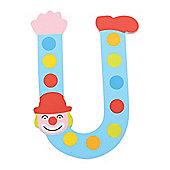 Tatiri Crazy Clown Letter U ((Blue) Spots)
