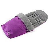 Baby Elegance Jersey Lined Footmuff (Purple)