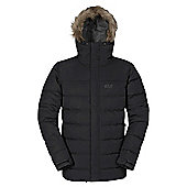 Jack Wolfskin Mens Terrenceville Insulated Jacket - Black