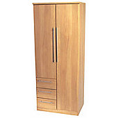 Welcome Furniture Sherwood Combi Wardrobe - English Oak