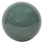 Green Marble Effect 22cm Stainless Steel Garden Gazing Ball Sphere Ornament