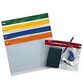 Snopake Zippa Bag A4 Plus Assorted Pack of 25 12814