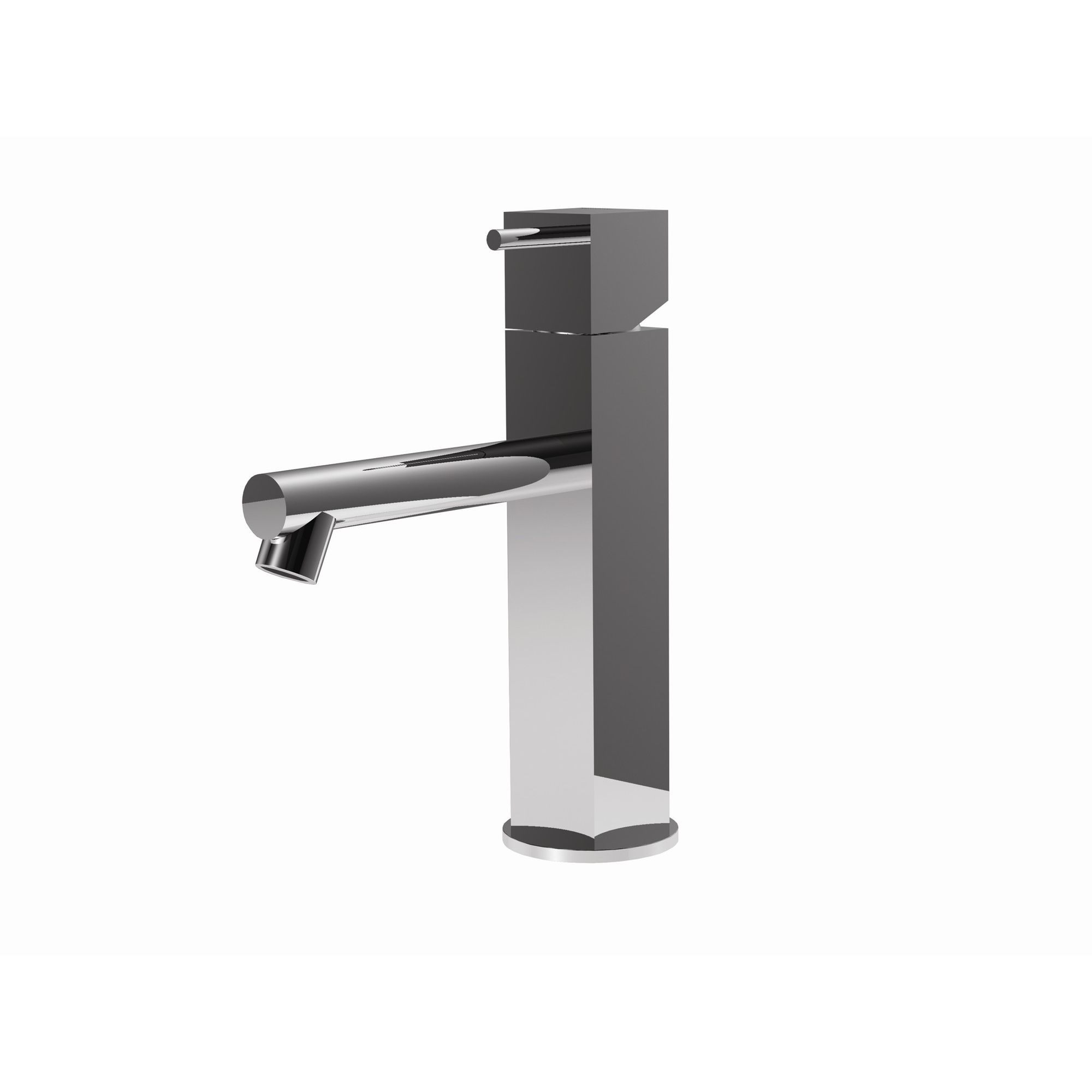 Rubinetterie Ritmonio Latoperlato Bathroom Sink Mixer Tap in Chrome at Tesco Direct