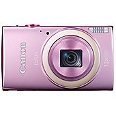 Canon Ixus 265 HS Digital Camera, Pink, 16MP, 12x Optical Zoom, 3 LCD Screen