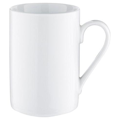 Tesco Basics Porcelain Mug, White