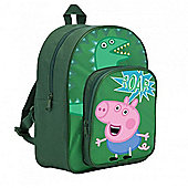 Character Peppa Pig George 'Roar' Arch Pocket Backpack