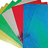 A4 Holographic Card for Children for Crafts and Display (Pack of 10)