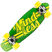 Mindless ML5100 Daily 24/7 Green/Yellow Complete Cruiser Board