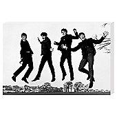 The Beatles Jump Canvas 91x61cm