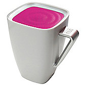 Wowthem Mighty Sound Mug Bluetooth Speaker White/Pink