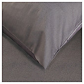 Tesco Twinpack Housewife Pillowcases Charcoal