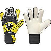 Uhlsport Eliminator Handbett Soft Goalkeeper Gloves Size - Black