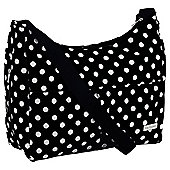 Baby Elegance Tote Baby Changing Bag Polka, Black