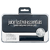 Juice Festival Essential Speaker & Power Bank, Charcoal