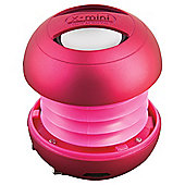 XMI X-Mini II (2nd Gen) Pink Capsule Speaker for iPhone/iPad/iPod/MP3 Players