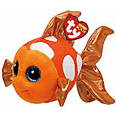 TY Beanie Boo Plush - Sami the Orange Fish 15cm